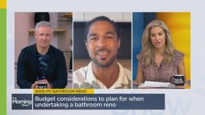 Planning a budget for bathroom reno (05:51)