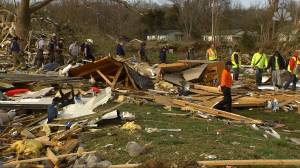 Authorities concerned about the number of people still missing following tornadoes in Tennessee