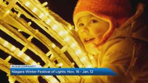 Niagara Winter Festival of Lights to kick off this weekend