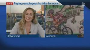 Winnipeg business owner paying employees to bike to work