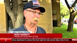 Witness, friend of Texas mass shooting victim react to incident