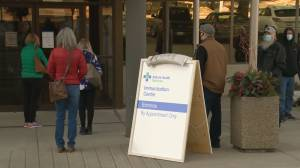More calls for COVID-19 vaccines to be offered to a wider range of people in Alberta (02:00)