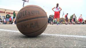 Shooting hoops to fight cystic fibrosis
