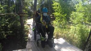 OnTree introduces new wheelchair-accessible zipline route (04:59)