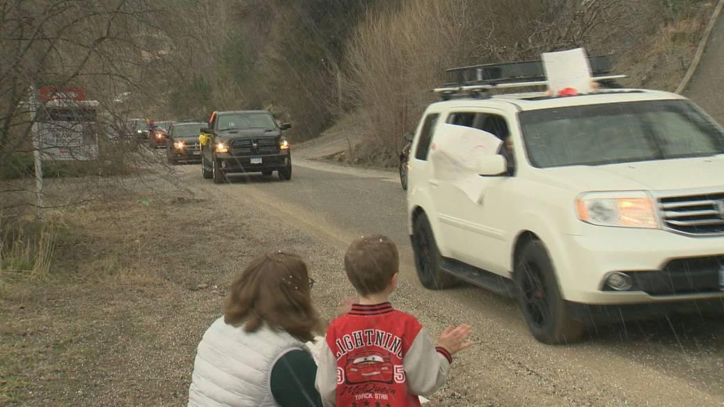 Coronavirus Birthday Parades Replacing Parties To Make Okanagan Kids Feel Special Globalnews Ca