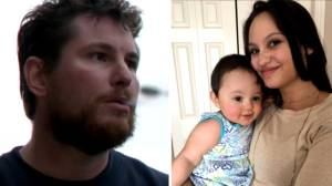 Calgary man enters two different murder pleas in double homicide of mother and daughter (01:50)