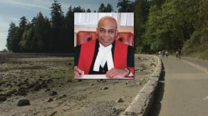 Vancouver police chief apologizes to handcuffed judge Selwyn Romilly (01:56)
