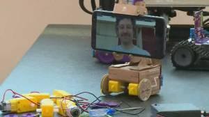 COVID-19 Zoom calls inspire telepresence robot