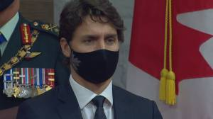 Trudeau warns of a second COVID wave in a special televised address