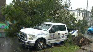 Hurricane Dorian: Heavy rain and wind gusts hammer Halifax