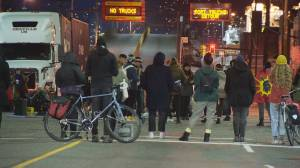 Protesters block traffic in Vancouver, arrests made at New Hazleton protests