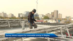 Survey shows support for renewable energy in Regina