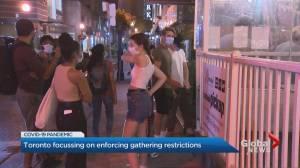 Coronavirus: Toronto shifts towards zero tolerance approach to gathering infractions