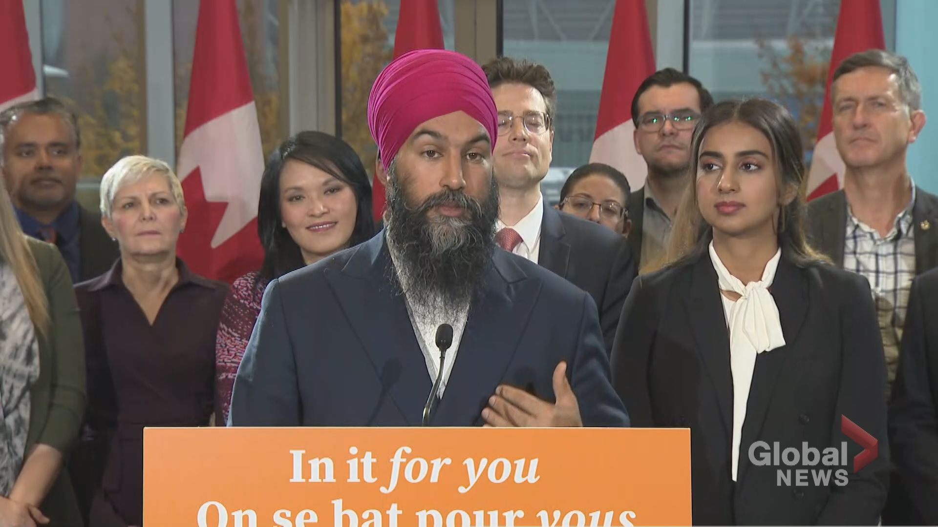 Federal Election 2019: Singh says he's committed to making young people feel 'engaged'