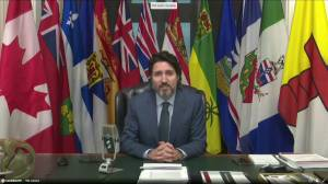 Trudeau, Legault open virtual First Ministers Meeting (03:26)