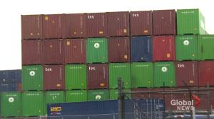 Vessels called in to help with backlog of diverted cargo containers in Halifax (01:59)