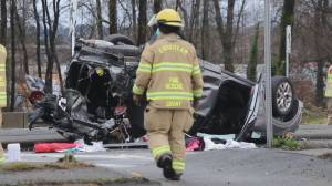 B.C.'s police watchdog agency investigating devastating holiday crash on New Westminster-Coquitlam border (01:35)