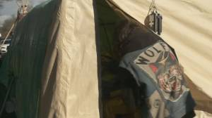 New care tent for homeless in Victoria not supported by everyone (02:15)