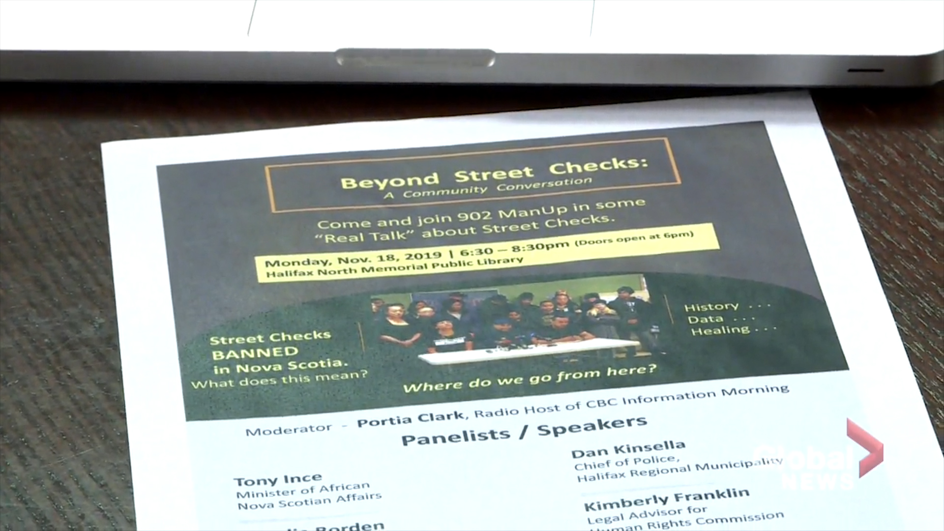 Community conversation on Halifax street checks a way to move forward