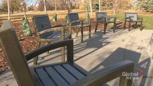 Quinterra Legacy Garden unveiled in memory of 5 Calgarians lost in Brentwood tragedy (02:22)