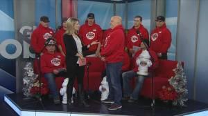 Carolling firefighters help Secret Santa Foundation in Saskatoon