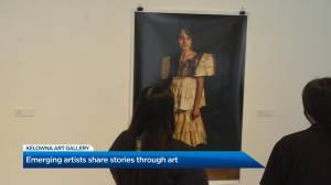 UBC Okanagan artists in spotlight at Kelowna Art Gallery (02:15)