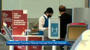 International flights to Canada now allowed to land at only 4 airports (02:05)