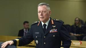 Canada's top soldier Gen. Jonathan Vance resigns (01:10)
