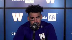 RAW: Blue Bombers Andrew Harris Post Game – Aug. 29 (05:18)