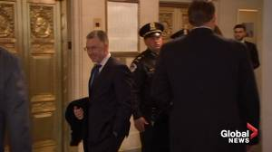 Volker, Morrison arrive at Capitol Hill to testify in impeachment inquiry