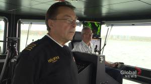 Halifax ferry crew recognized for helping rescue fallen passenger