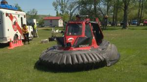 Water rescue base coming to Echo Valley Provincial Park (01:43)
