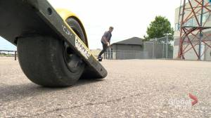 Calls arise for review of laws governing e-scooter use in Saskatchewan (01:57)