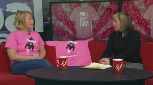 Pink Shirt Day sends a message against bullying