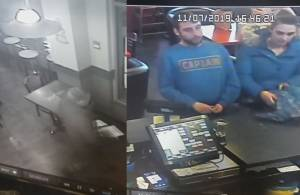 Video shows thieves make off with poppy donation boxes from Langley coffee shop