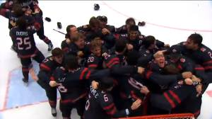 Canada comes from behind to beat Russia and win World Junior Hockey Championship