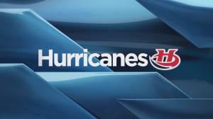 Hurricanes hammer Pats 7-2 in Regina