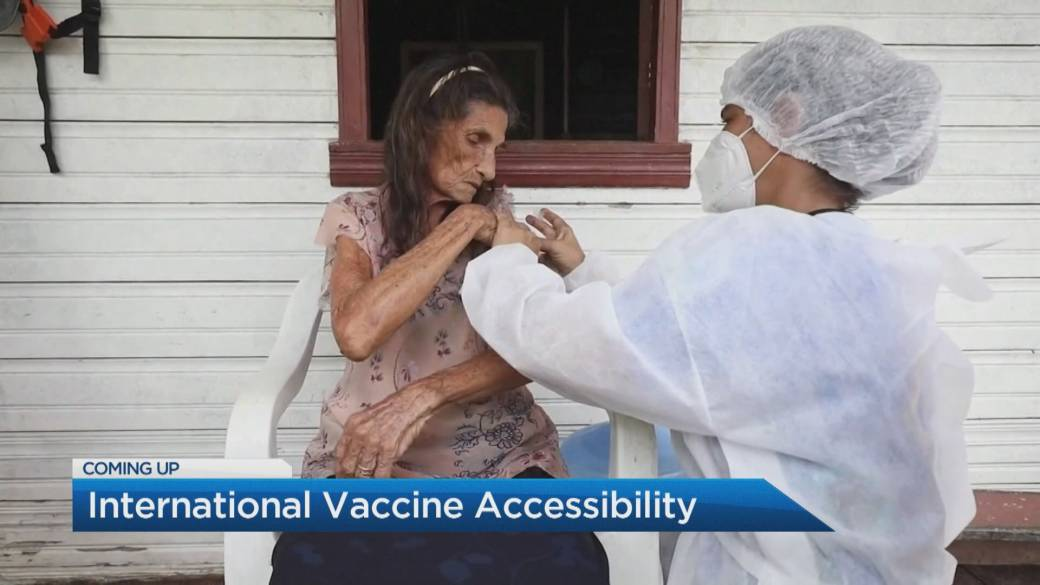 Click to play video 'Global vaccine accessibility a growing concern: expert'