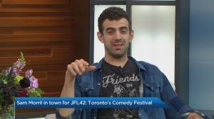 Comedian Sam Morril joins the JFL42 tour