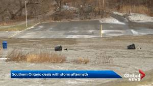 Southern Ontario deals with aftermath of major storm