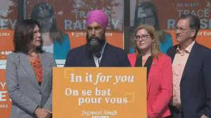 Federal Election 2019: Singh provides more details on pharmacare plan