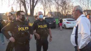 Police investigations into two no more lockdowns rallies attended by M.P.P. Randy Hillier continue (02:23)