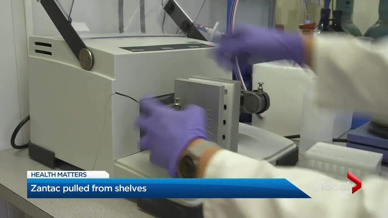 Zantac pulled from shelves over possible contamination