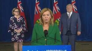 Coronavirus: Ontario health minister says there are 'no shortages' of flu shots