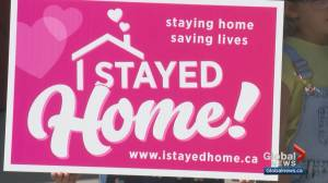Calgary Cares: 'I stayed home' campaign sends a message while supporting a cause