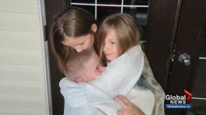 Ultra rare 'one-in-eight billion' genetic disease hits 3 Alberta siblings (02:58)