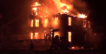 Fire in Colborne destroys historic building and restaurant