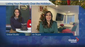Tips for listing your property during the holidays (04:11)