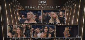 Major winners from the 2019 Country Music Association Awards