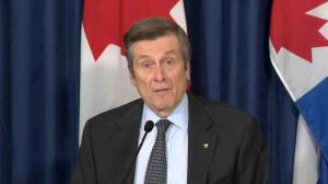 Coronavirus outbreak: Toronto mayor provides details on reopening of park amenities